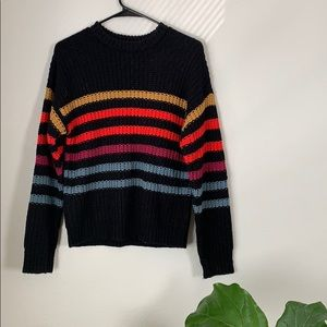 Volcom stripped sweater